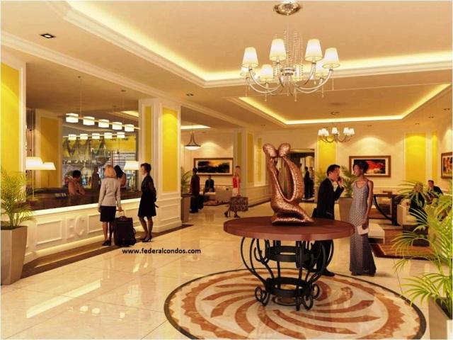 Park West Lobby is inspired by the elegance of Grand Hyatt