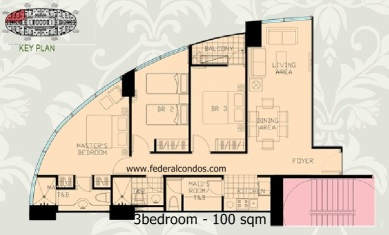 3bedroom layout