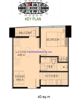 40sqm 1bedroom
